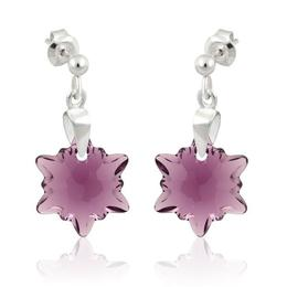 Cercei Edelweis Morning Star Amethyst