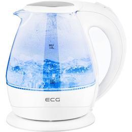 Cana electrica fierbator din sticla ECG RK 1520 , 2200 W, 1.5 L, lumina albastra de fundal