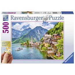 Puzzle hallstatt austria, 500 piese - Ravensburger