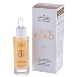 Concentrat Bioactiv cu Aur pentru Fermitate - Farmona Retin Gold Bioactive Firming Gold Concentrate, 30ml