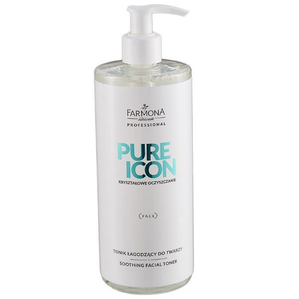 Lotiune Tonica Calmanta - Farmona Pure Icon Soothing Facial Toner, 500ml imagine produs