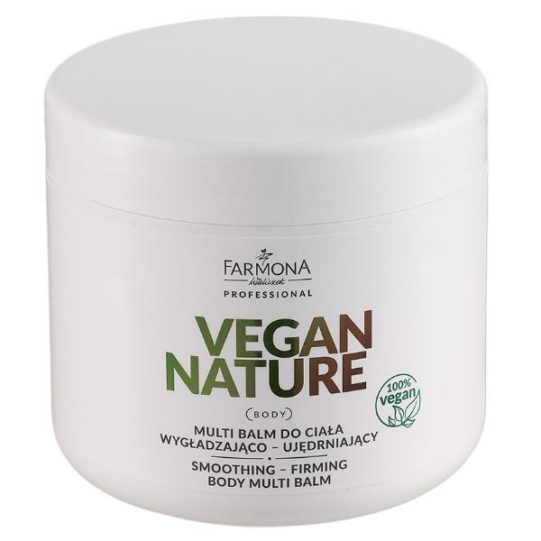 Balsam Multifunctional de Corp pentru Netezire-Fermitate - Farmona Vegan Nature Smoothing-Firming Multi Balm, 600g imagine produs