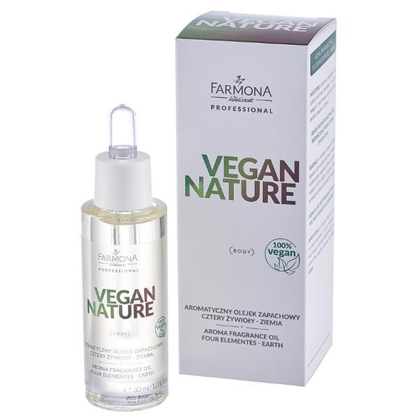 Ulei Aromatic Patru Elemente - Pamant - Farmona Vegan Nature Aroma Fragrance Oil Four Elements - Earth, 30ml imagine produs