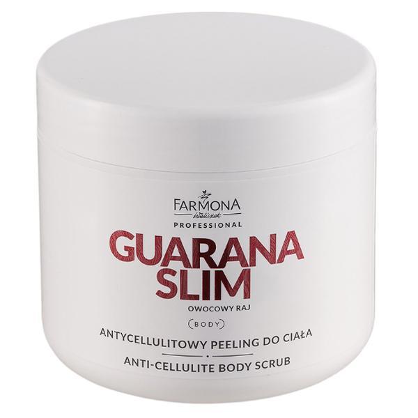 Exfoliant Anticelulitic pentru Corp - Farmona Guarana Slim Anti-Cellulite Body Scrub, 600g imagine produs