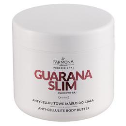 Unt Anticelulitic pentru Corp - Farmona Guarana Slim Anti-Cellulite Body Butter, 500ml