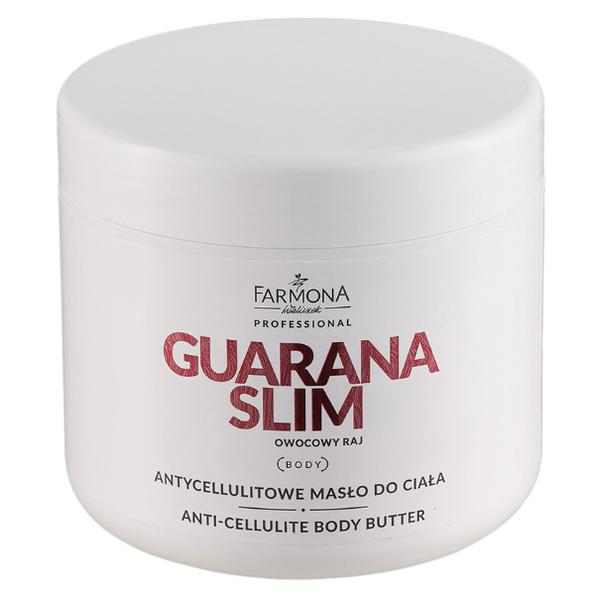 Unt Anticelulitic pentru Corp - Farmona Guarana Slim Anti-Cellulite Body Butter, 500ml esteto.ro