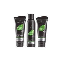 Set pentru bărbaţi I – Soothing After Shave Balm 100 ml + Anti Irritation Shaving Foam 200 ml + Anti Stress Face Cream 100 ml – LR de la esteto.ro
