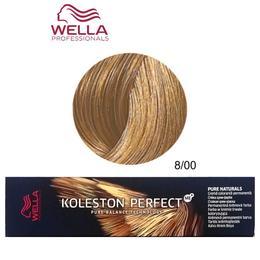 Vopsea Crema Permanenta – Wella Professionals Koleston Perfect ME+ Pure Naturals, nuanta 8/00 Blond Deschis Natural de la esteto.ro