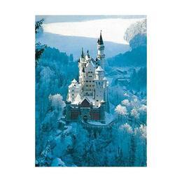 Puzzle castelul neuschwanstein iarna, 1500 piese - Ravensburger