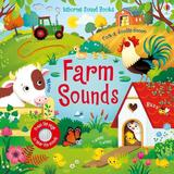 Carte cu sunete Farm Sounds, editura Usborne Publishing