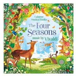 Carte muzicala Anotimpurile lui Vivaldi Four Seasons Musical Book, editura Usborne Publishing