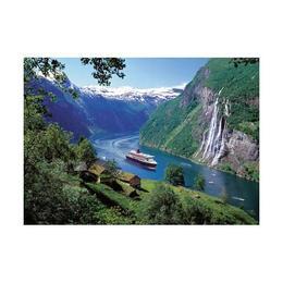 Puzzle fiord norvegian, 1000 piese - Ravensburger