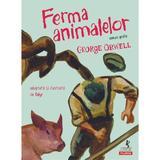 Ferma animalelor. Roman grafic - George Orwell, editura Polirom