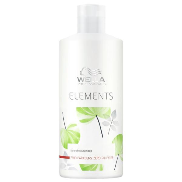 Sampon Revitalizant - Wella Professionals Elements Renewing Shampoo, 500ml poza
