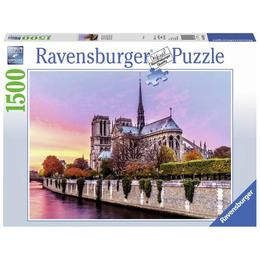 Puzzle pictura notre dame, 1500 piese - Ravensburger