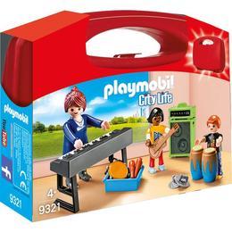 Playmobil City Life - Set Portabil - Curs De Muzica