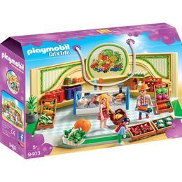 Playmobil City Life - Magazin Produse Alimentare
