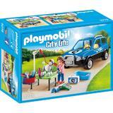 Playmobil City Life - Salon Mobil Pentru Ingrijire Catei