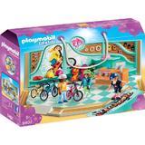 Playmobil City Life - Magazin De Biciclete Si Skatebord