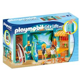 Playmobil City Life - Cutie De Joaca- Magazin Articole Surf