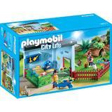 Playmobil City Life - Crescatorie De Iepurasi Si Hamsteri
