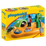 Playmobil 1.2.3 - Insula Piratilor