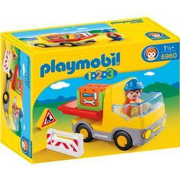 Playmobil 1.2.3 - Camion De Constructii