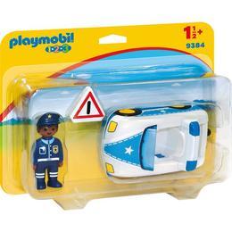 Playmobil 1.2.3 - Masina De Politie