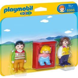 Playmobil 1.2.3 - Parinti Cu Copilas