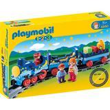 Playmobil 1.2.3 - Tren Cu Sina