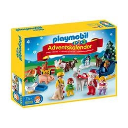 Playmobil 1.2.3 - Calendar Craciunul La Ferma