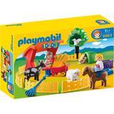 Playmobil 1.2.3 - Animale La Zoo