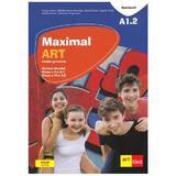 Maximal art a1.2 limba germana cls 5 - 6 (l1- l2) cartea elevului + cd + dvd - julia katharina weber