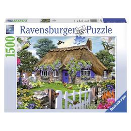 Puzzle casuta in anglia 1500 piese - Ravensburger