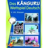 Cangurul clasa 5-8 2014 lb. germana (Das Kanguru Wettspiel Deutsch), editura Sigma