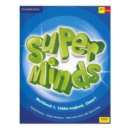Super Minds - Limba Engleza - Clasa 1 - Workbook 1 + CD - Herbert Puchta