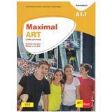 Maximal art a1.1 limba germana cls 5 l2 caietul elevului + cd - julia katharina weber