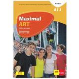 Maximal art a1.1 limba germana cls 5 l2 cartea elevului + cd + dvd - julia katharina weber