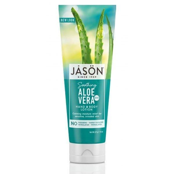 Cremă hidratantă pentru mâini și corp cu 84% aloe vera Jason 227g