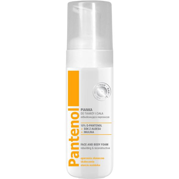 Spuma Reconstructoare Calmanta pentru Fata si Corp cu Pantenol - Farmona Pantenol Rebuilding & Reconstructive Face and Body Foam, 150ml poza