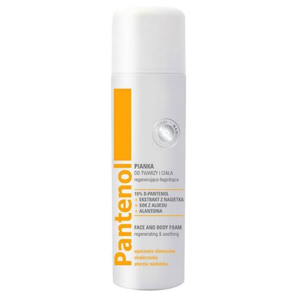 Spray Regenerator Calmant pentru Fata si Corp cu Pantenol - Farmona Pantenol Regenerating & Soothing Face and Body Foam, 150ml poza