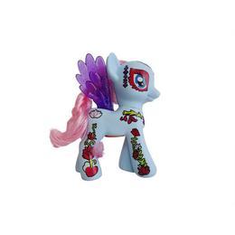 Ponei muzical tip My little pony, 20 cm, varsta 3 ani+, bleu - Disney
