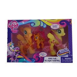 Set 3 figurine ponei cu accesorii, 15 cm, varsta 3 ani+, multicolori - Disney