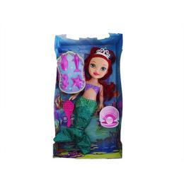 Papusa Ariel cu sunete si 5 accesorii, 35 cm, varsta 3 ani+, multicolora - Disney