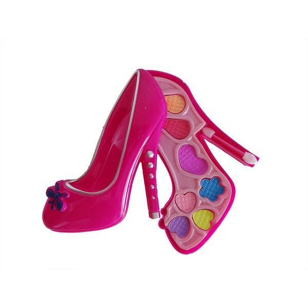 Trusa De Machiaj Pentru Fetite Frozen In Forma De Pantof 11 Culori