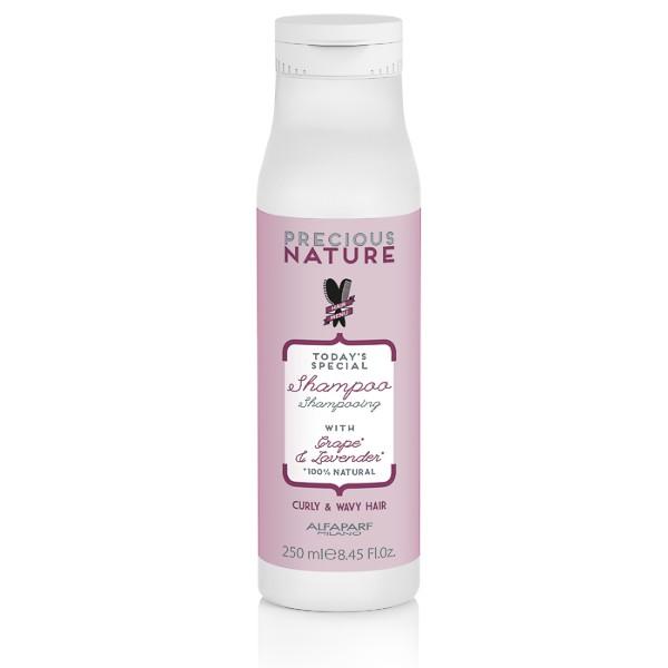 Sampon pentru Par Ondulat si Cret - Alfaparf Milano Precious Nature Shampoo 250 ml poza