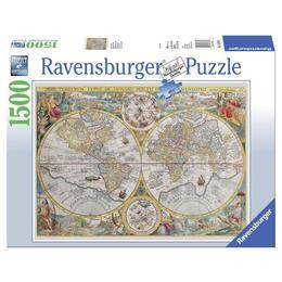 Puzzle harta istorica, 1500 piese - Ravensburger