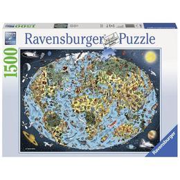 Puzzle lumea animata, 1500 piese - Ravensburger