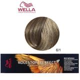 Vopsea Crema Permanenta - Wella Professionals Koleston Perfect ME+ Rich Naturals, nuanta 6/1 Blond Inchis Cenusiu