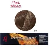 Vopsea Crema Permanenta - Wella Professionals Koleston Perfect ME+ Rich Naturals, nuanta 6/3 Blond Inchis Auriu